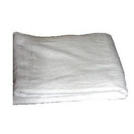 Serviette éponge blanche