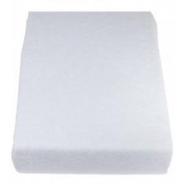 Housse de table blanche 65x195 cm