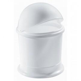 Poubelle de table plasqtique blanche